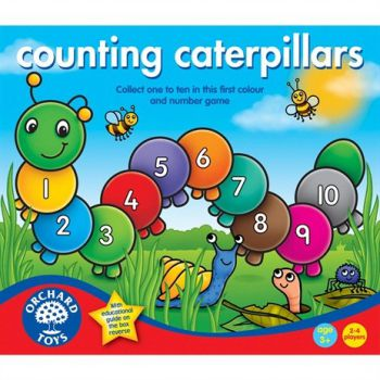 Counting caterpillars