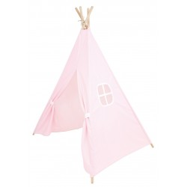 Cukierkowy namiot tipi jasnoróżowy