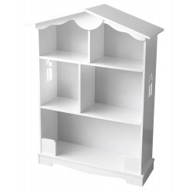 Regał półka biały domek