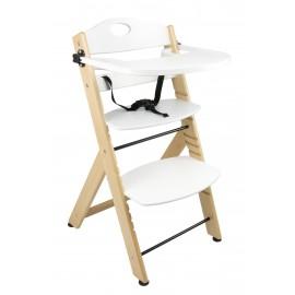 Krzesełko do karmienia białe