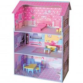 Drewniany domek dla lalek NINA