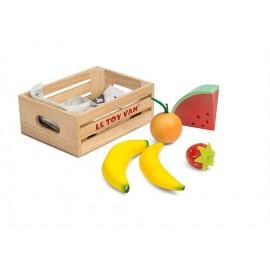 Drewniane owoce w skrzynec, Le Toy Van