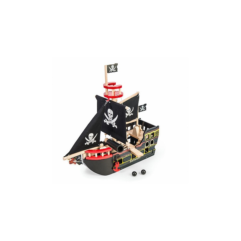 LE TOY VAN Barbarossa Pirate Ship statek piracki