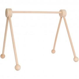 Drewniany stojak edukacyjny -baby gym