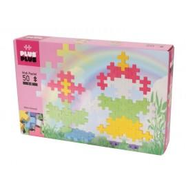 Plus-Plus, Midi Pastel - 50 szt. - Dziewczynka i Kwiatek