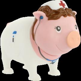 Świnka skarbonka opiekuńcza pielęgniarka Lilalu