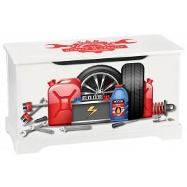 Skrzynia na zabawki serwis samochodowy