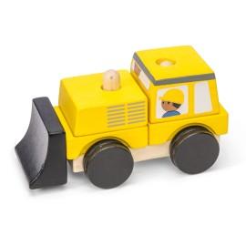 Drewniany spychacz Le Toy Van