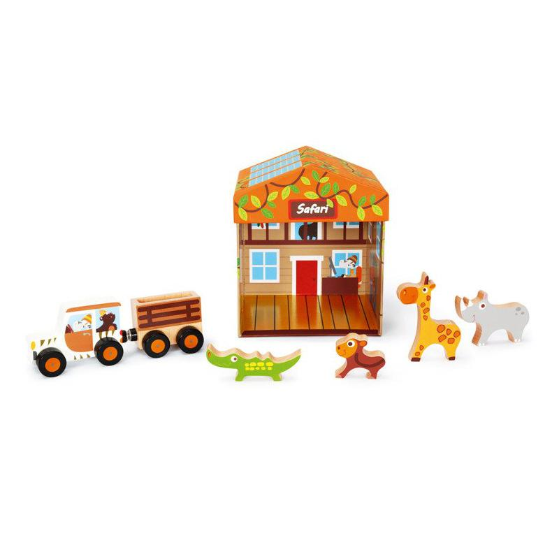 Domek Safari 2w1, Scratch