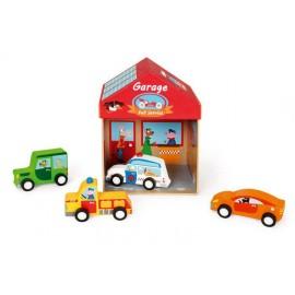Domek, garaż 2w1 Scratch