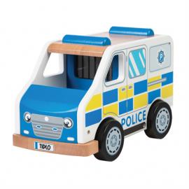 Drewniany pojazd policyjny  Tidlo
