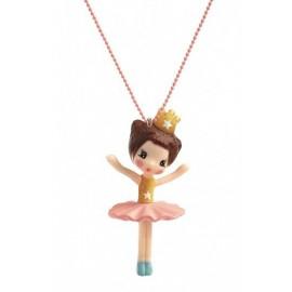 Naszyjnik z zawieszką Ballerina Djeco