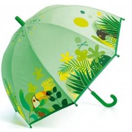 Parasol przeciwdeszczowy tropikalna dżungla, Djeco