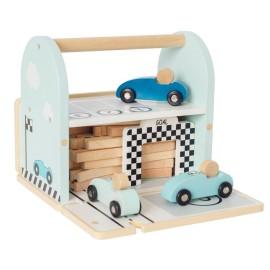 Drewniany tor wyścigowy z autami, Jabadabado