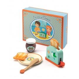 Zestaw śniadaniowy z tostami AURORA & THEODORE Djeco