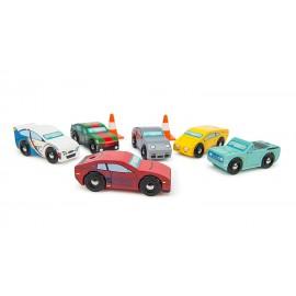 Drewniane samochody wyścigowe Montecarlo Le Toy VAN