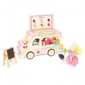 Drewniana furgonetka z lodami Le Toy Van