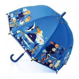 Parasol przeciwdeszczowy podwodny świat, Djeco