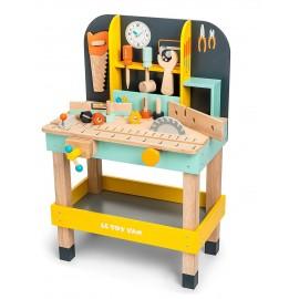 Drewniany warsztat z narzędziami Alex, Le Toy Van