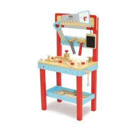 Drewniany warsztat z narzędziami dla dzieci, Indigo Jamm