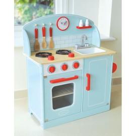 Drewniana kuchnia błękitna, Indigo Jamm