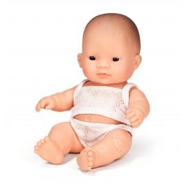 Pachnąca lalka Azjatka, Miniland 21cm