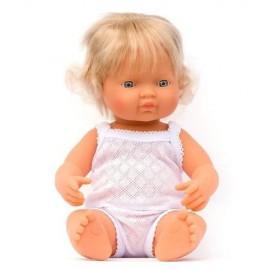Pachnąca lalka Europejka, Miniland 40cm