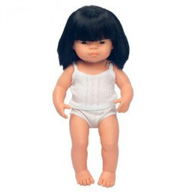 Pachnąca lalka Azjatka, Miniland 40cm