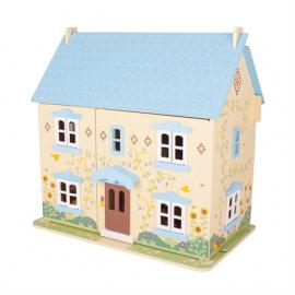 Drewniany domek dla lalek słoneczna rezydencja, Bigjigs