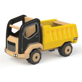 Drewniany pojazd budowlany wywrotka Tidlo