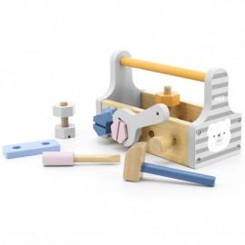 Drewniana skrzynka z narzędziami, Viga