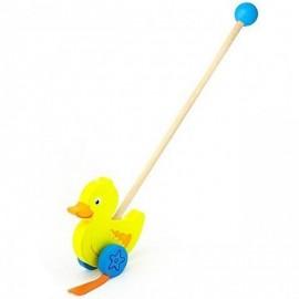 Drewniany pchacz edukacyjny kaczka, Viga