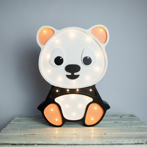 Panda -drewniana lampa LED, Lights My Love
