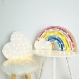 Tęcza - drewniana lampa LED Lights My Love