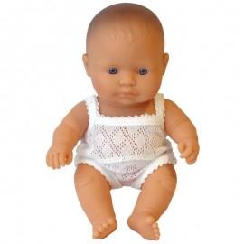 Pachnąca lalka chłopiec EUROPEJCZYK, Miniland 21cm