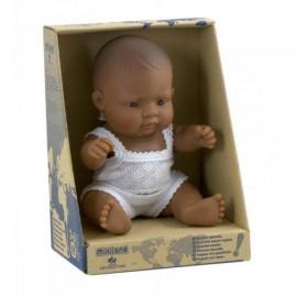 Pachnąca lalka chłopiec Hiszpan , Miniland 21cm