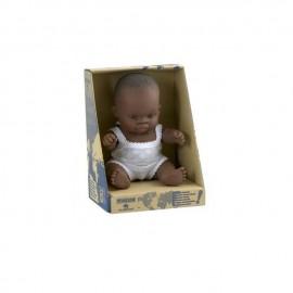 Pachnąca lalka chłopiec AFRYKAŃCZYK , Miniland 21cm