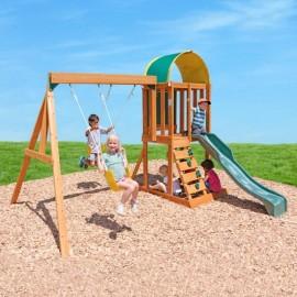 Drewniany plac zabaw z piaskownicą, Kidkraft