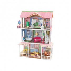 Drewniany domek dla lalek Sweet Savannah, Kidkraft