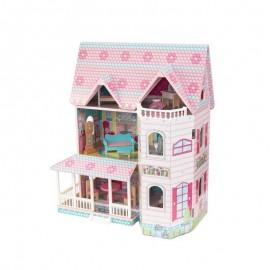Drewniany domek dla lalek Abbey Manor, Kidkraft