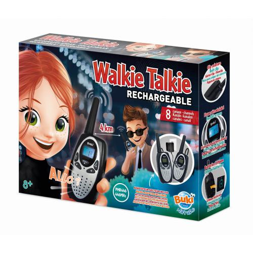 Walkie-talkie z akumulatorem 4km, Buki